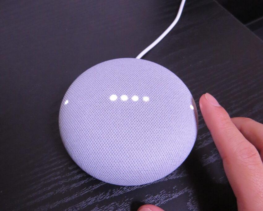 Google Nest Miniの再生