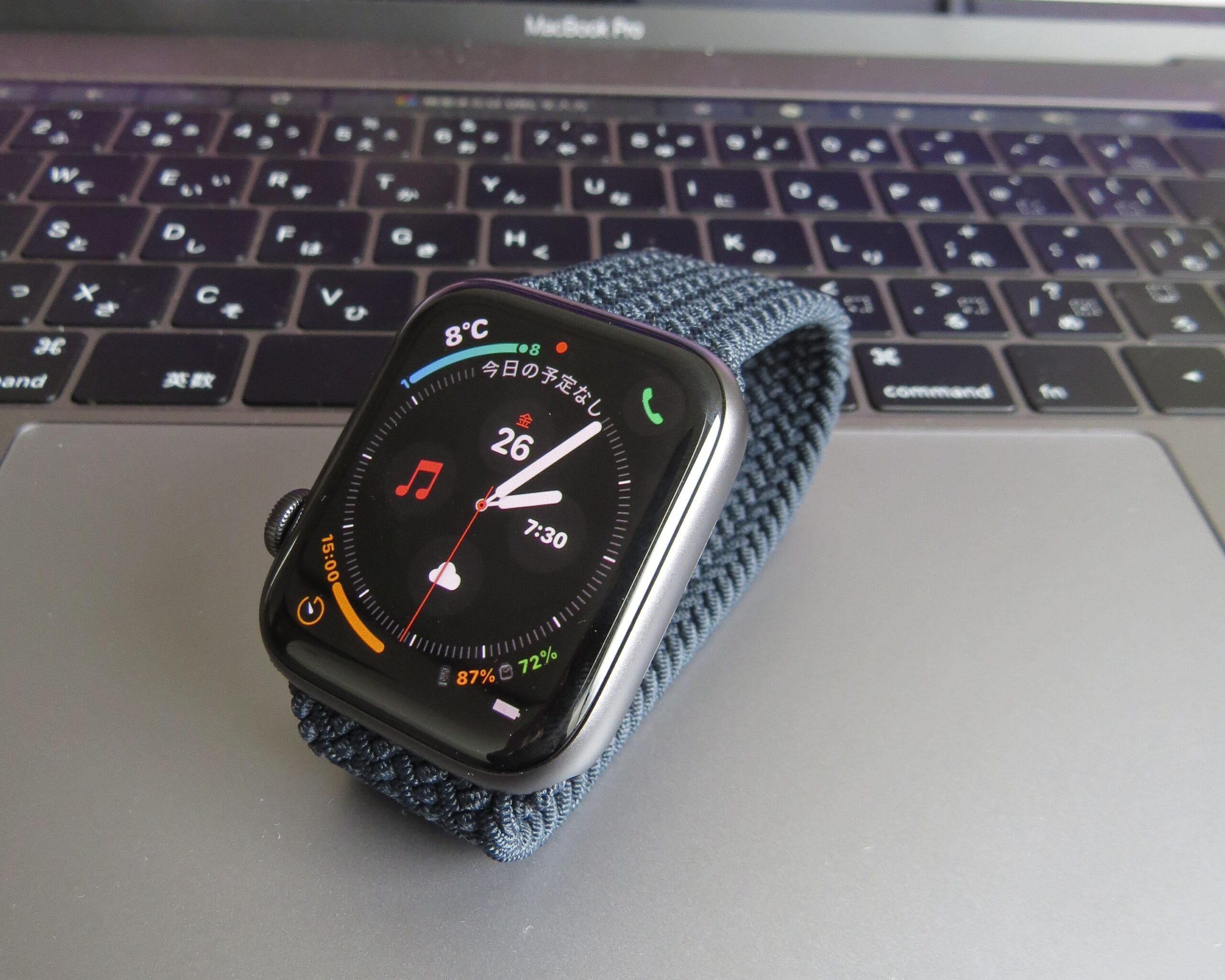 Apple Watch SE スペースグレー