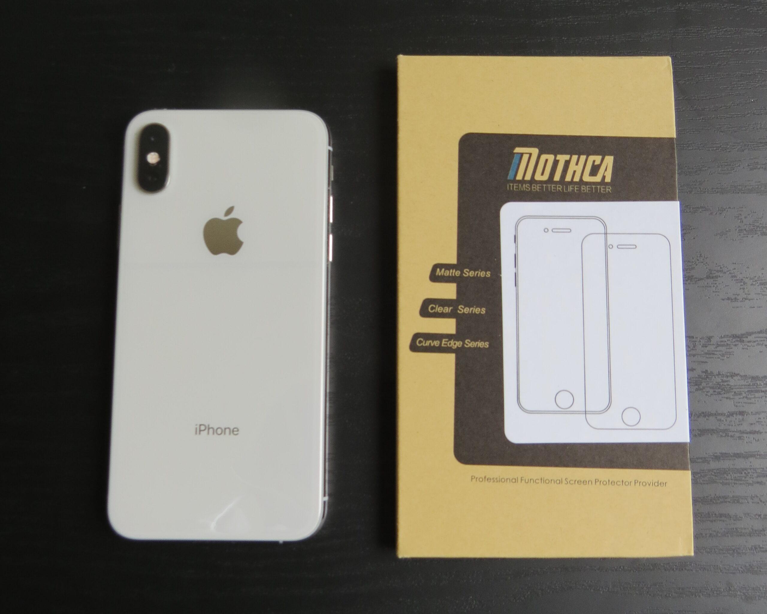 iPhonexsとアンチグレアフィルム