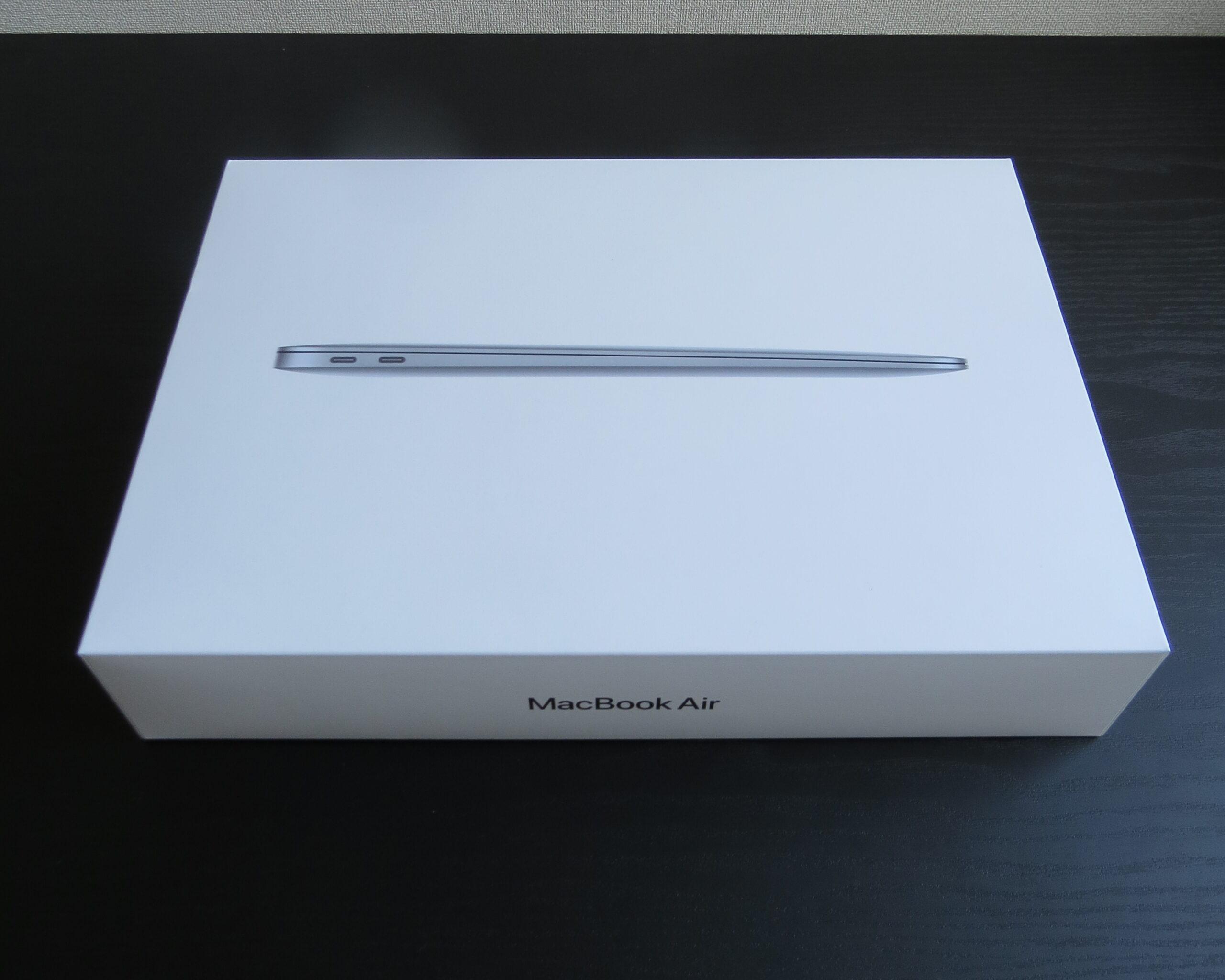 M1 MacBook Airの外箱